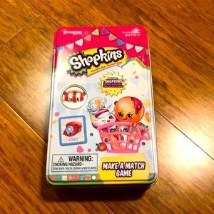 New! Shopkins Mix & Match game with piece.